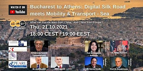 Digital Silk Road meets Mobility & Transportation: Sea tickets