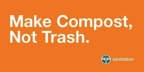 DSNY Curbside Composting Webinar - 11/5/2021 tickets