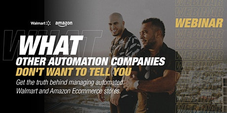Webinar: What Other Automation Companies Don't Want To Tell You tickets