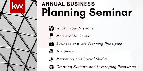 Annual Business Planning Seminar with Meny Atias tickets