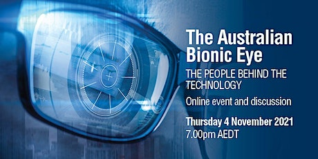 The Australian Bionic Eye: the people behind the technology tickets