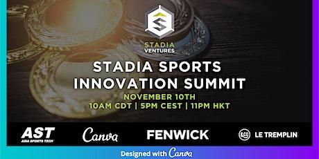 Stadia's Sports Innovation Summit // Fall 2021 tickets