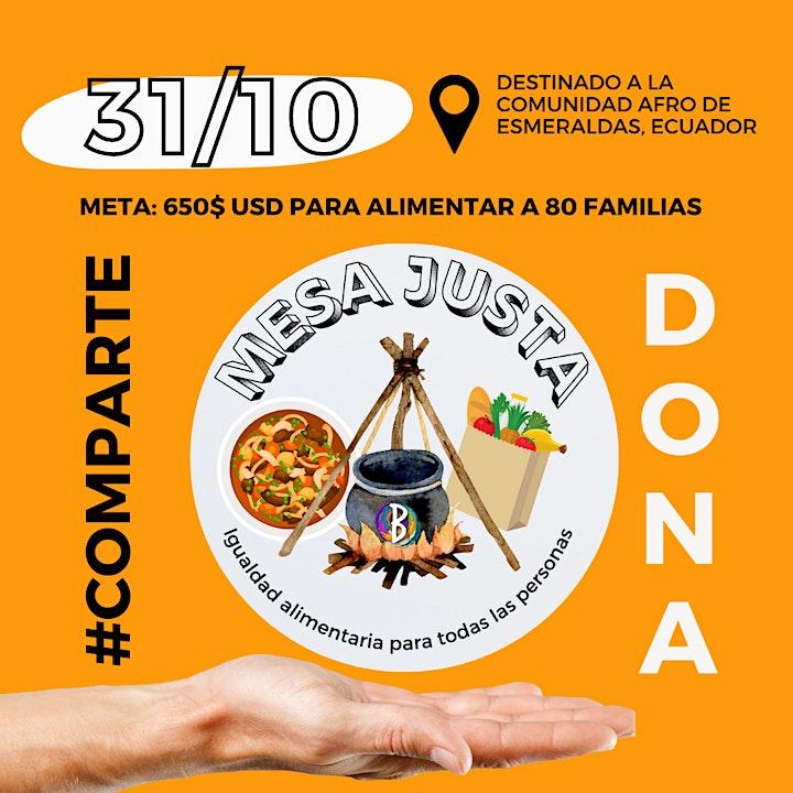 Imagen de MESA JUSTA: Comedor comunitario ECUADOR
