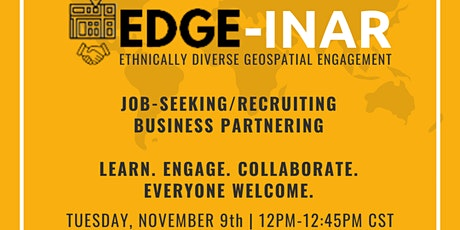 EDGE-inar: Join the Initiative tickets