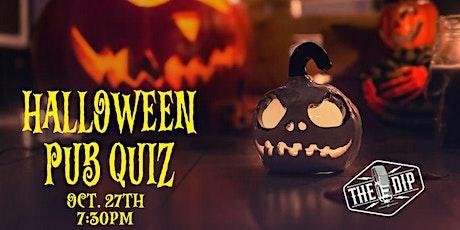 Halloween  Pub Quiz tickets