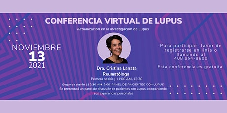 CONFERENCIA VIRTUAL DE LUPUS- Actualización en la investigación de Lupus boletos