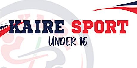 Under 16 Femminile - Kaire Sport ASD vs Como Volley ASD biglietti