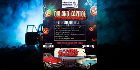 Capitol Nutrition Halloween Trunk or Treat Car Show tickets