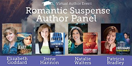 Virtual Author Panel | Romantic Suspense tickets