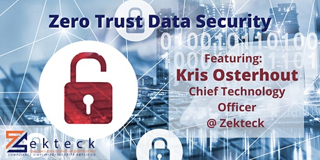 Zero Trust Data Security and Keeping Your Practice Safe tickets