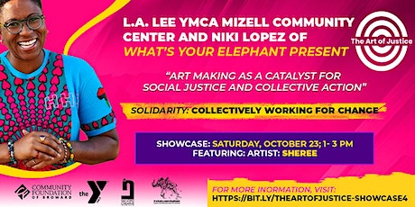The Art of Justice: Virtual Showcase featuring performer Sheree L. Greer tickets