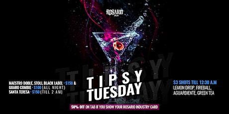 Tipsy Tuesdays | Rosario Miami entradas