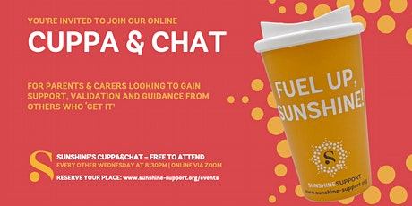 Cuppa&Chat - ONLINE tickets