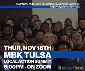 My Brother's Keeper Tulsa Local Action Summit tickets
