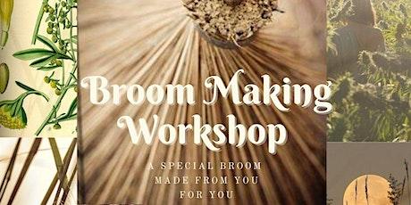 Copy of Broom Making Workshop tickets