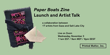 Paper Boats Zine Artist Talk and Launch tickets