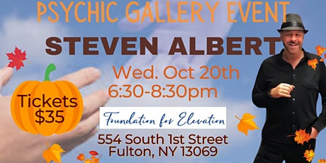 Steve Albert: Psychic Gallery Event -Foundation for Elevation tickets