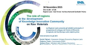 The role of regions in the development of Knowledge Inn...