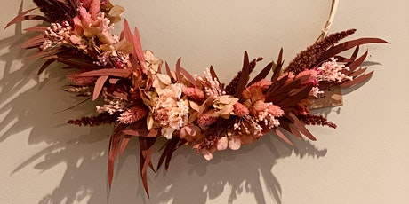 Atelier Couronne fleurs sechées billets