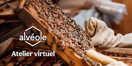 Atelier virtuel d'Alvéole - De la ruche à la récolte billets