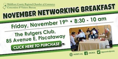 November Networking Breakfast tickets