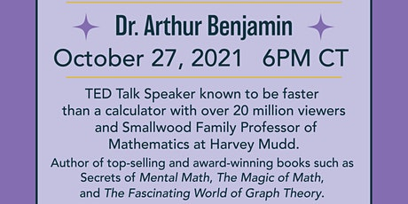 Mathemagics! Feat. Dr. Arthur Benjamin tickets