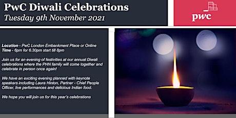 PwC Hindu Network Diwali Celebrations 21 tickets