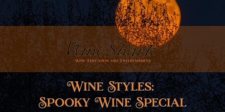 Free Online Tasting  - Spooky Wine Special tickets