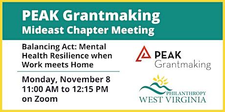 Peak Grantmaking Mideast Chapter Meeting tickets