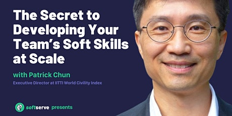 The Secret to Developing Your Team's Soft Skills at Scale tickets