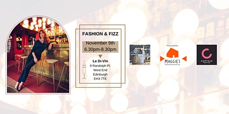 Fashion and Fizz! tickets