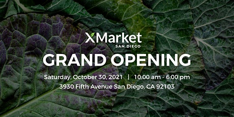 XMarket Grand Opening in Hillcrest tickets