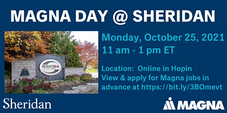 Magna Day @ Sheridan College tickets