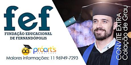 FEF-CONVITE EXTRA 10/03/2022 ingressos