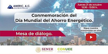 Conmemoración del Día Mundial del Ahorro de Energía boletos