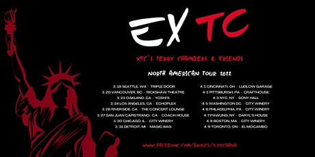 EXTC - XTC's Terry Chambers & Friends (XTC's Songbook Live) tickets