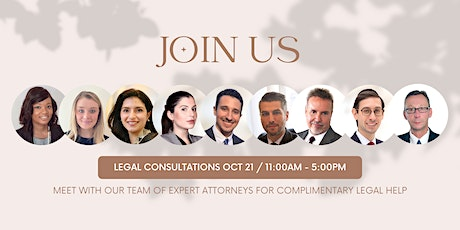 Free Virtual Legal Consultations   PN Lawyers tickets