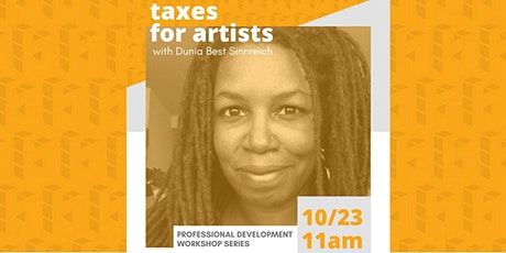 Taxes for Artists Professional Development Workshop tickets