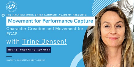 Character Creation and Movement for PCAP with Trine Jensen! tickets