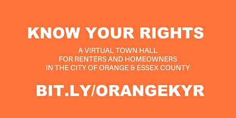 Know Your Rights Virtual Town Hall for Renters & Homeowners tickets