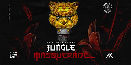 Jungle Masquerade at Backdoor Monkey entradas
