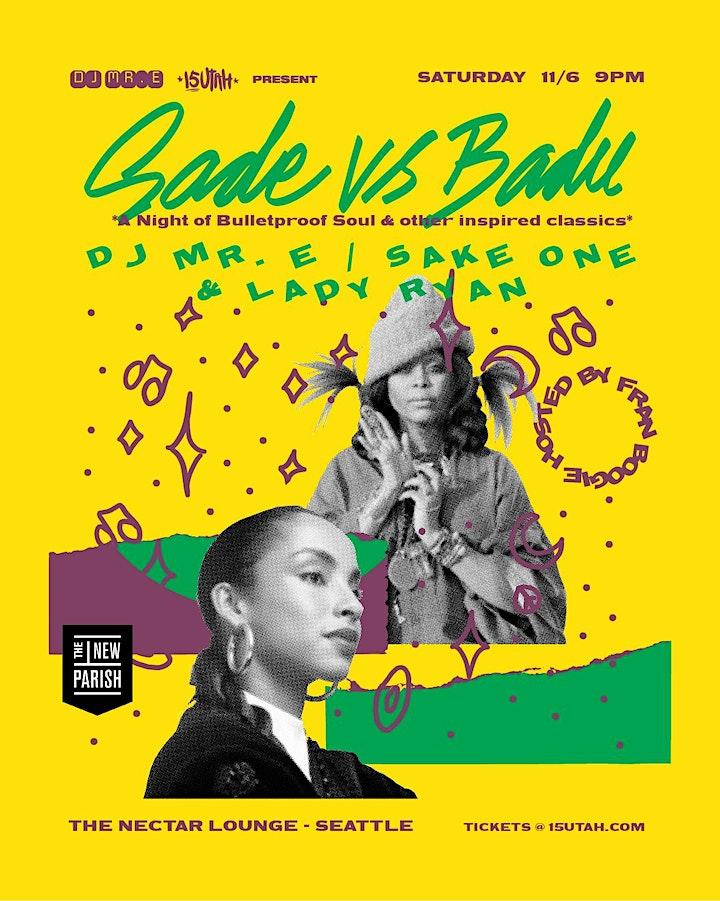 Sade vs. Badu - A Night of Bulletproof Soul image