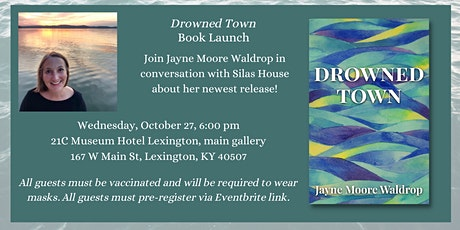DROWNED TOWN Book Launch at 21C tickets