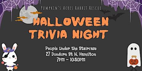 Pumpkin's Acres Rabbit Rescue Halloween Trivia tickets
