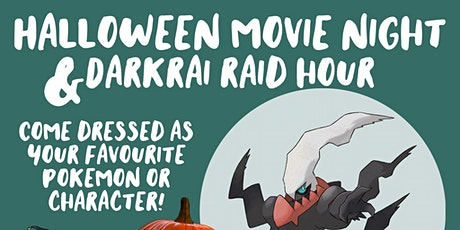 Halloween Raid Hour and Movie Night tickets