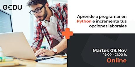 Aprende a programar en Python e incrementa tus opciones laborales entradas