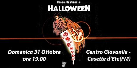 Colpo Critico's HALLOWEEN biglietti