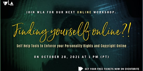 Personality Rights and Copyright Online: How to Self Enforce Your Rights tickets