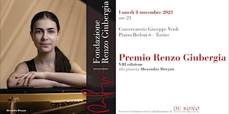 Premio Renzo Giubergia 2021 biglietti