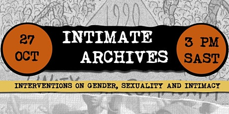 Webinar: Intimate Archives tickets